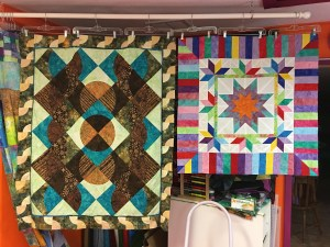 Patterns by Karen E Overton, The Quilt Rambler. Mint Chocolate Chip and Illuminated Journey