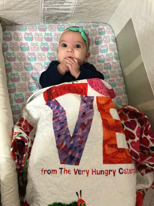 Baby quilt made by The Quilt Rambler