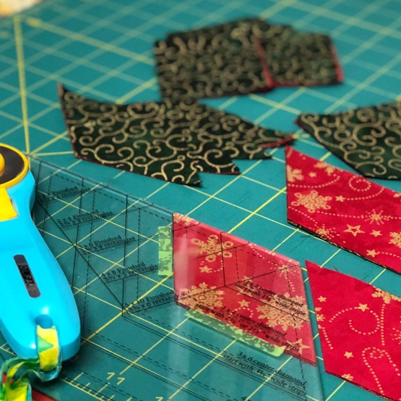 cutting diamond fabric with Diamond Rects tool