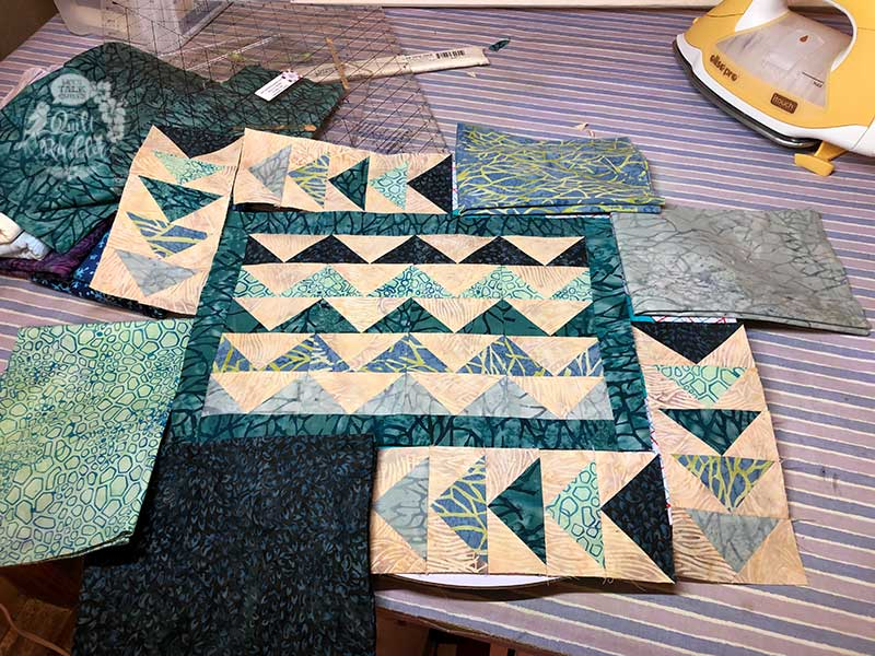 City Geese by The Quilt Rambler