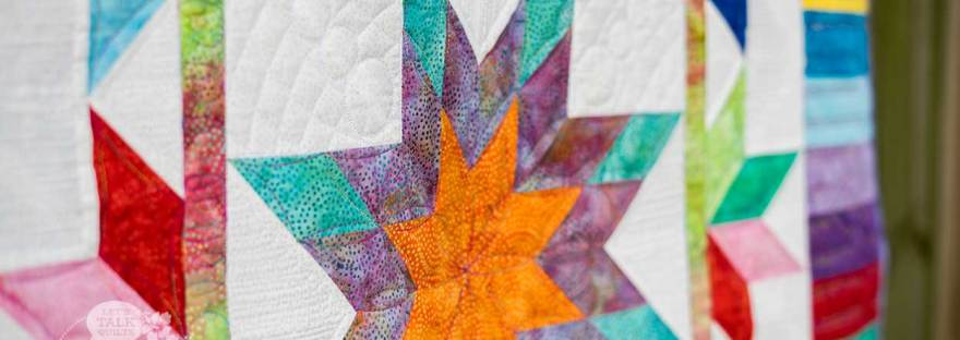 Illuminated Journey quilt pattern by Karen E Overton, The Quilt Rambler