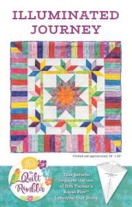 Illuminated Journey quilt pattern by The Quilt Rambler, Karen Overton