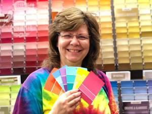 The Quilt Rambler loves color