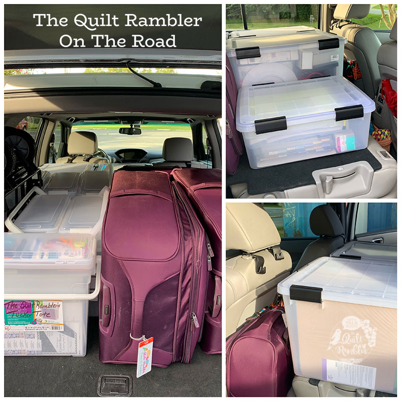 The Quilt Rambler on The Road