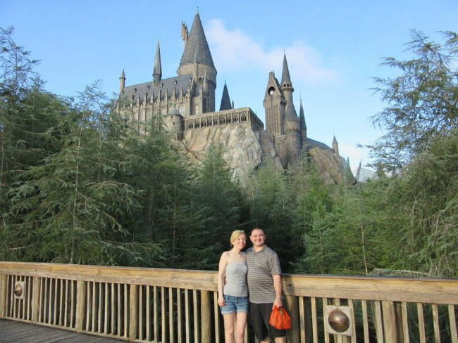 harry potter parents vacations