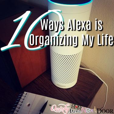 alexa organizing