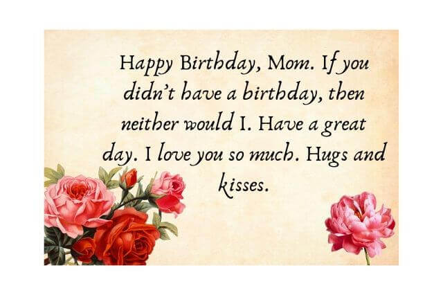 Happy Birthday Mom Quotes Birthday Wishes For Mother Mummy Amma