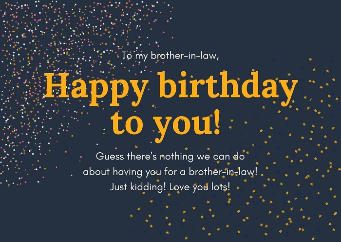 Birthday Wishes For Brother In Law The Quotely