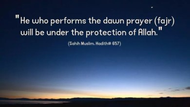 Importance of Fajr prayer