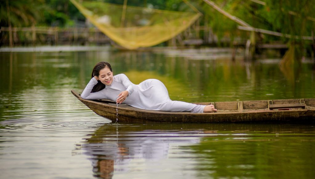 people woman relaxation water
