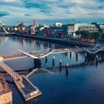 bridge under the blue sky
