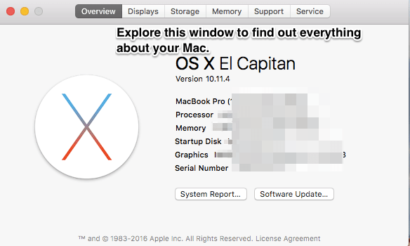How to View Your Macs Specs 2