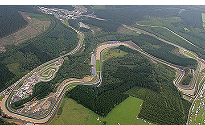 A track day at Spa
