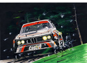 bmw 3.0csl by miha klemen