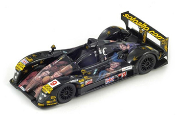 spark creation judd lm07 with bizarre graphics other art car models in 1:43