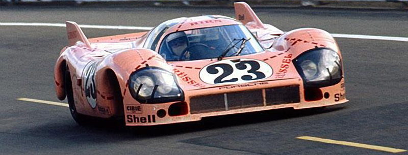 porsche 917-20 at LeMans porsche pink pig