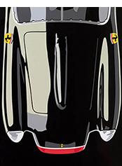 Speedicons Ferrari-250-Testa-Rossa motorsport art by Joel Clark