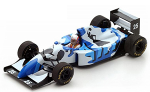 spark ligier js39 gitanes, decorated by Hugo Pratt, more art car models in 1:43 scale