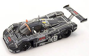 sauber c9 aeg, more art car models in 1:43 scale