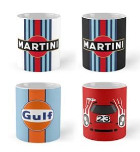 martini white_black_gulf_porsche 917 cars and coffee cups 2
