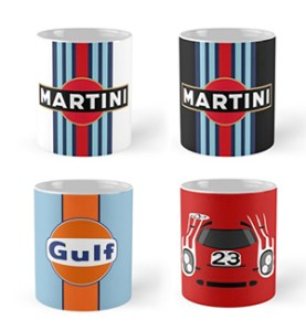 martini white_black_gulf_porsche 917 cars and coffee cups 2
