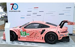 Porsche Pink Pig GTLM at Porsche Rennsport Reunion VI