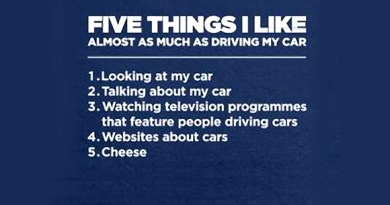 five things i like tee from shot dead n the head
