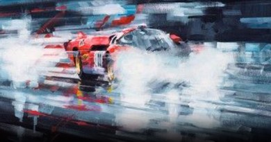 Motorsport art by John Ketchell