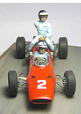 1965 Ferrari Surtees & Clark by racing dioramics