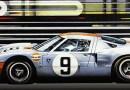 Gone With Wind motorsport art by Simon Owen