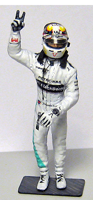 lewis hamilton by racing dioramics