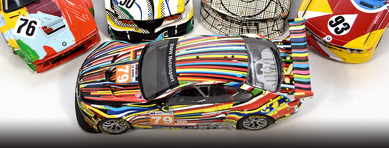 1:43 koons bmw art car