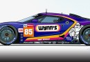 wynns ford motorsport art by steve petrosky