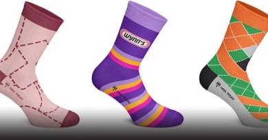 heel tread socks. motorsport art for your feet.