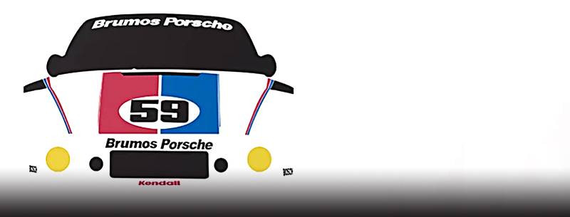 brumos motorsport art by cale funderburk
