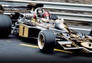 black & gold JPS Team Lotus