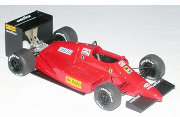 Tron Ferrari 637 Indy test car model in 1/43 scale