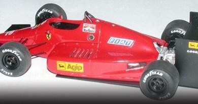 Tron Ferrari 637 Indy & Alfa Group C in 1/43