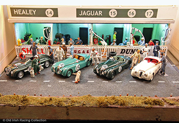 50s lm pit old irish racing collection