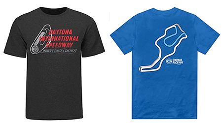 Great U.S. race track tees daytona & sonoma