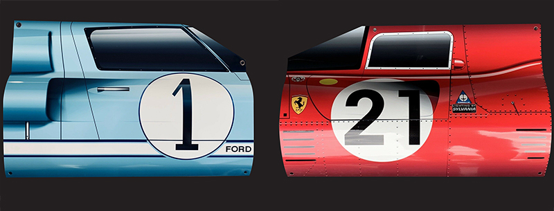 ford v ferrari on your wall