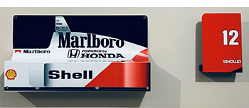 senna mclaren ford vs. ferrari on your wall