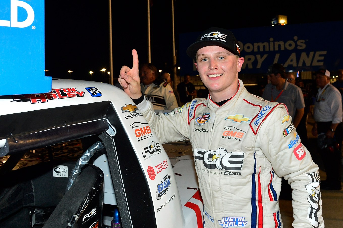 NASCAR Camping World Truck Series Villa Lighting delivers the Eaton 200