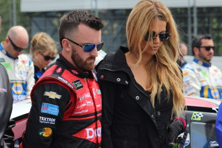 Austin Dillon on pit road ahead of the 2018 Pocono 400. (Tyler Head | The Racing Experts)