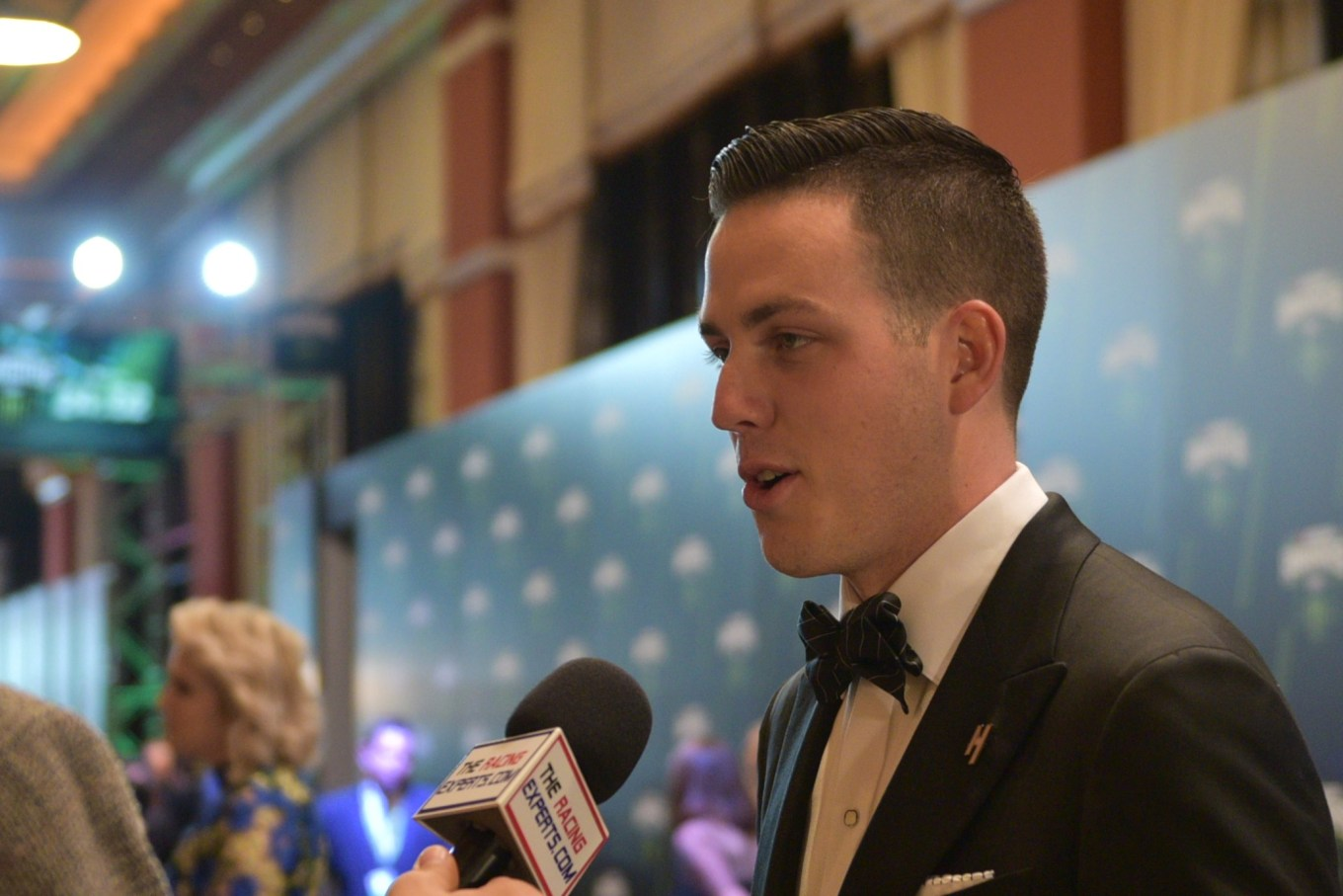 Alex Bowman NASCAR Awards Banquet 2018