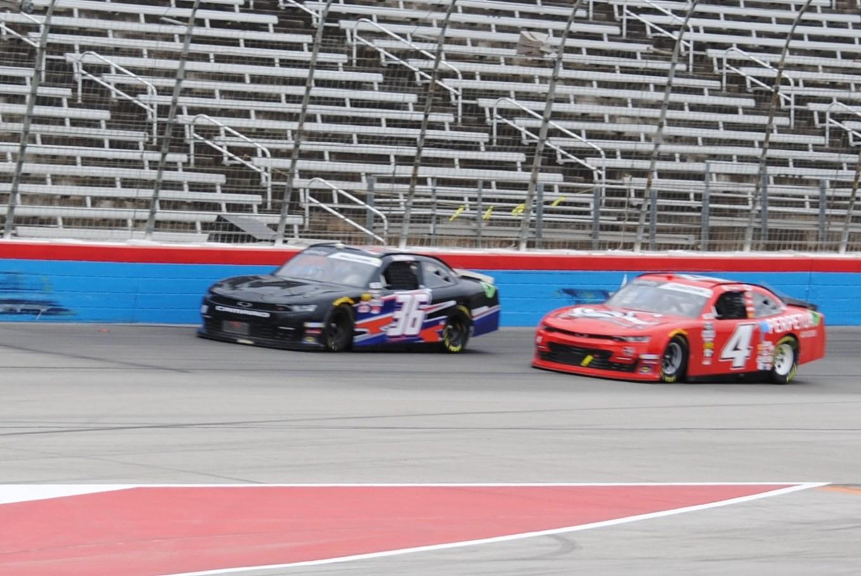 Josh Williams Ross Chastain Texas Motor Speedway 2019