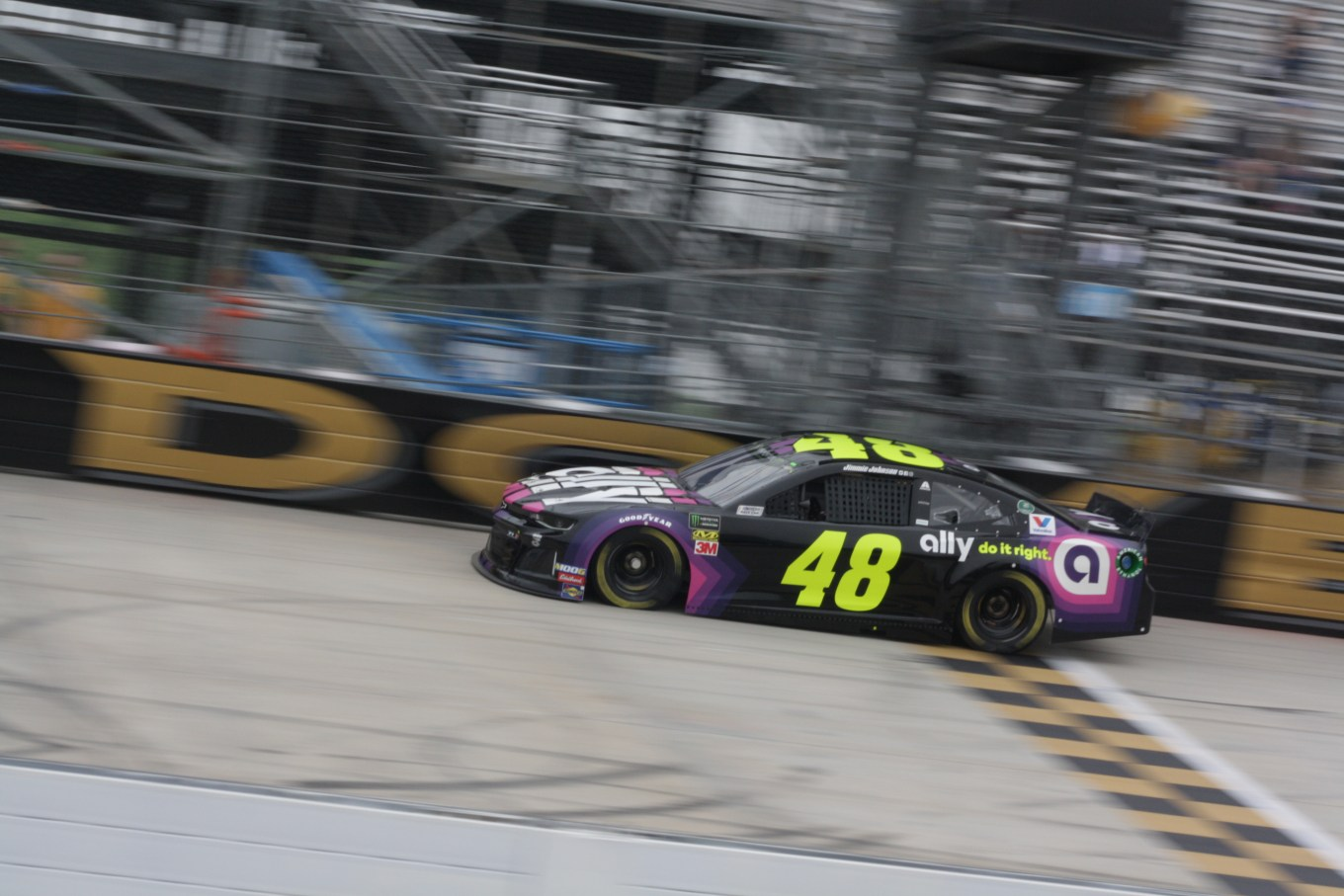 Jimmie Johnson Dover Final Practice