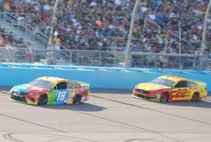 Kyle Busch Joey Logano ISM Raceway 2019