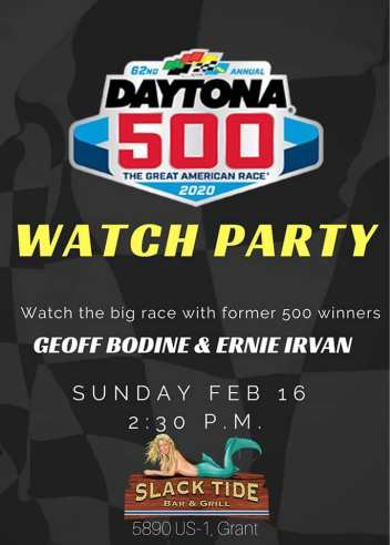 Daytona 500 watch party