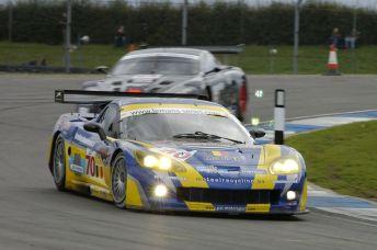 PSI Motorsport Jos Menten Corvette C6R, Donington 1000km 2006